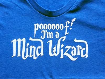 Wizard T-shirt tshirt typography wizard