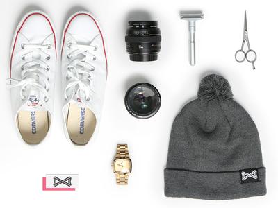 Accessories accessories composition