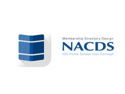 Membership Directory Design logo directory book icon ios