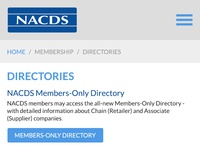 Nacds directories mobile layout