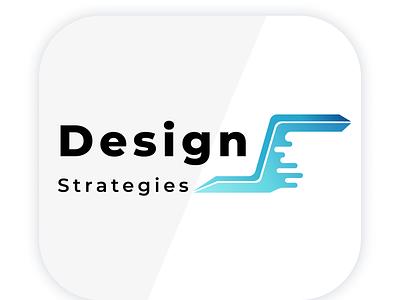 Strategies Design Logo ui vector logo sketch