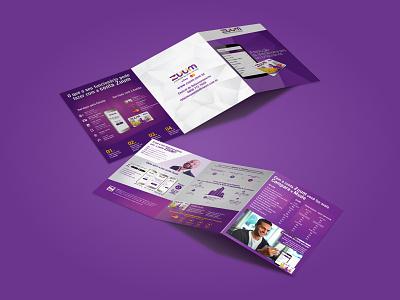 Broadside print design graphic design brand design