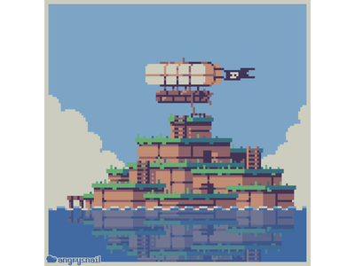 Great Sea of Bounty 8bitart sprite game design pirates 16bit illustration environment design gameart pixel art pixelart 8bit