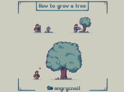 How to grow a tree
