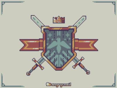 Pixelart crest