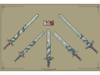 5 swords and a crown