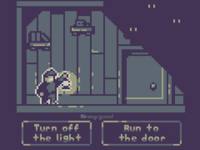 Gameboy style game mock-up