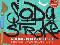 Soda Stroke Vector Brush Pack - Free Download