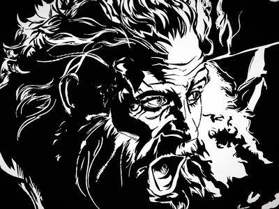 Tormund - Soda Stroke tormund got drawn illustration eye portrait