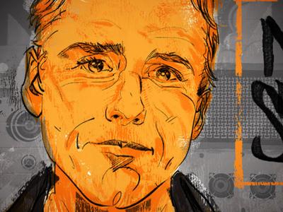Mom Show radio john richards illustration face drawn seattle kexp