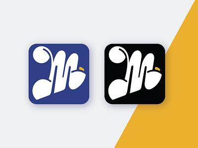 M App Icons branding illustration logo application ui uidesign icons ui  ux dailyui