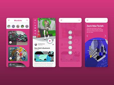 Daily UI 010 — Mural Mapper App zacharymactavish zackmactavish uidesign branding uxdesign ui ux dailyuichallenge dailyui010 dailyui