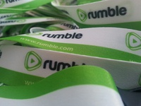Rumble.com Lanyards