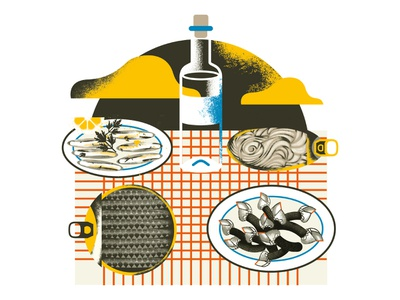 Cantabria products illustration