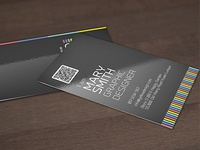 Web style business card