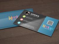 Minimalist business card