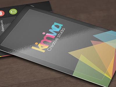Modern Web Style Business Card  business card minimal minimalist modern print print template shape simple simplicity web web style