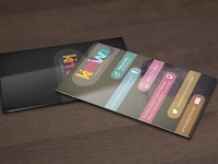 Colorful business card Vol3