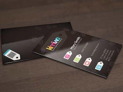 Ecommerce business card by kimiwa dribbble ecommerce business card colourmoves