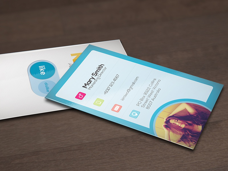 Awesome business card Vol3 awesome business card button print print template showcase social social media web web button web style