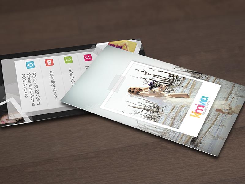 Photography business card Vol5 business card personal photo photo polaroid photograph photography polaroid portfolio print print template showcase