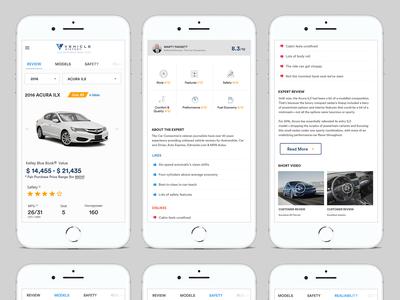 Car Review Mobile App