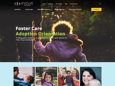 Adoption Agency Website Designing