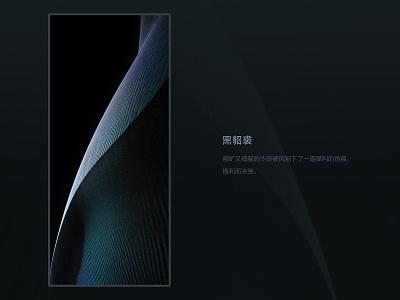 """20191125 """"黑貂裘"""" -- For MIUI12 System Of Xiaomi miui12 art xiaomi design wallpaper"""