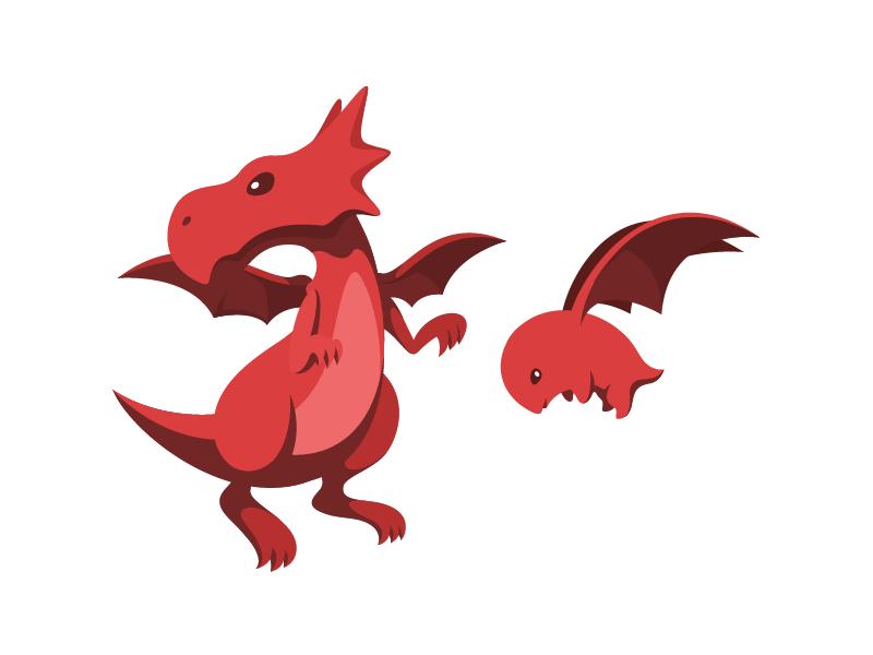Khan Academy Avatar Red By Joseph Le Dribbble Dribbble