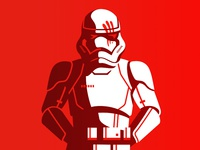 Stormtrooper in RED
