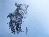 The Last Guardian sketch