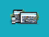 Web showcase project presentation photolibrary