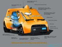 eMu-Vers autonomous vehicle concept infographic