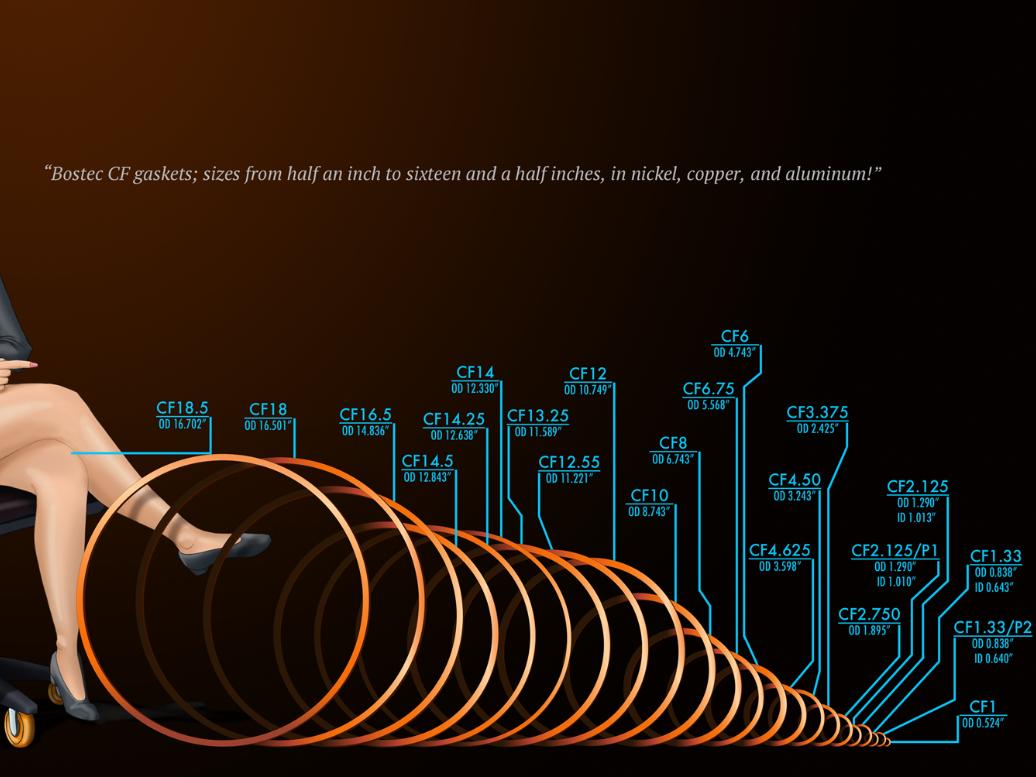 Bostec CF Gasket size comparison infographic scientific illustration aerospace adobe illustrator technical illustration clip studio paint infographic
