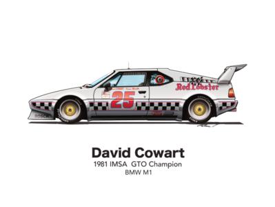 David Cowart BMW M1