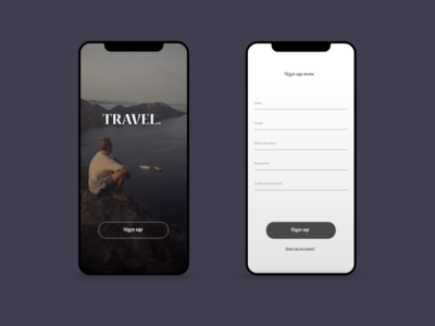 Sign Up Page Daily UI 001
