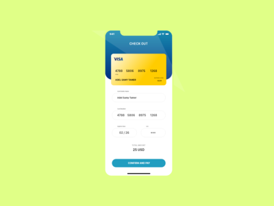 Credit Card Checkout Daily UI 002