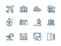 Expedia PartnerCentral icons