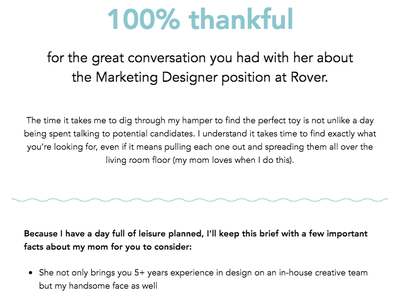 Thank you email responsive campaign monitor interview email design email