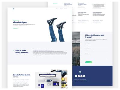 katieswanson.design redesign resume website design web design wip visual designer designer webflow portfolio