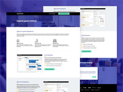 Expedia Group Marketing micro-site product expedia marketo responsive web landing page marketing webflow web design