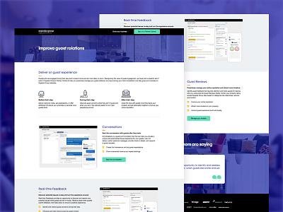 Expedia Group Marketing micro-site product expedia marketo responsive web landing page marketing webflow web design