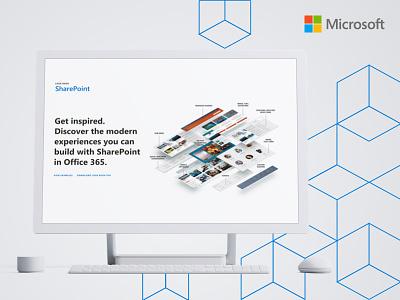SharePoint look book webflow website design microsoft sharepoint