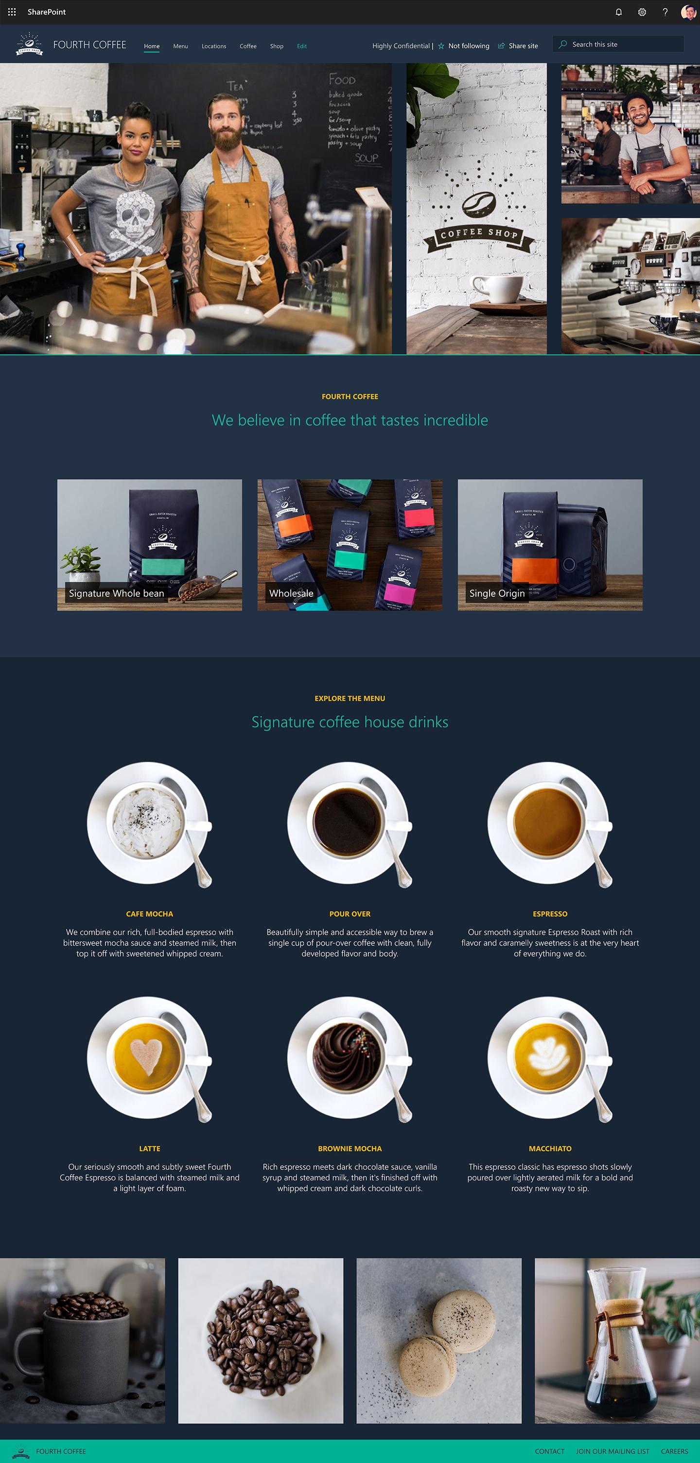 Fourthcoffee desktop