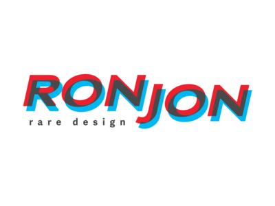 RonJon Design Firm Logo Concept