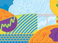 Seattle Genetics Mural