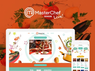 Masterchef Junior Website