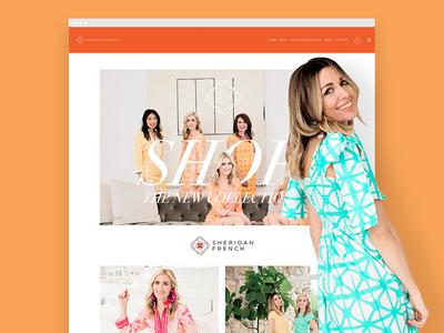 Sheridan French E-Commerce Website
