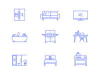Opul smart home icons