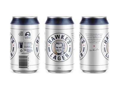 Hawke's Brewing Co. vintage pale ale brewery lager beer packaging lettering logo branding